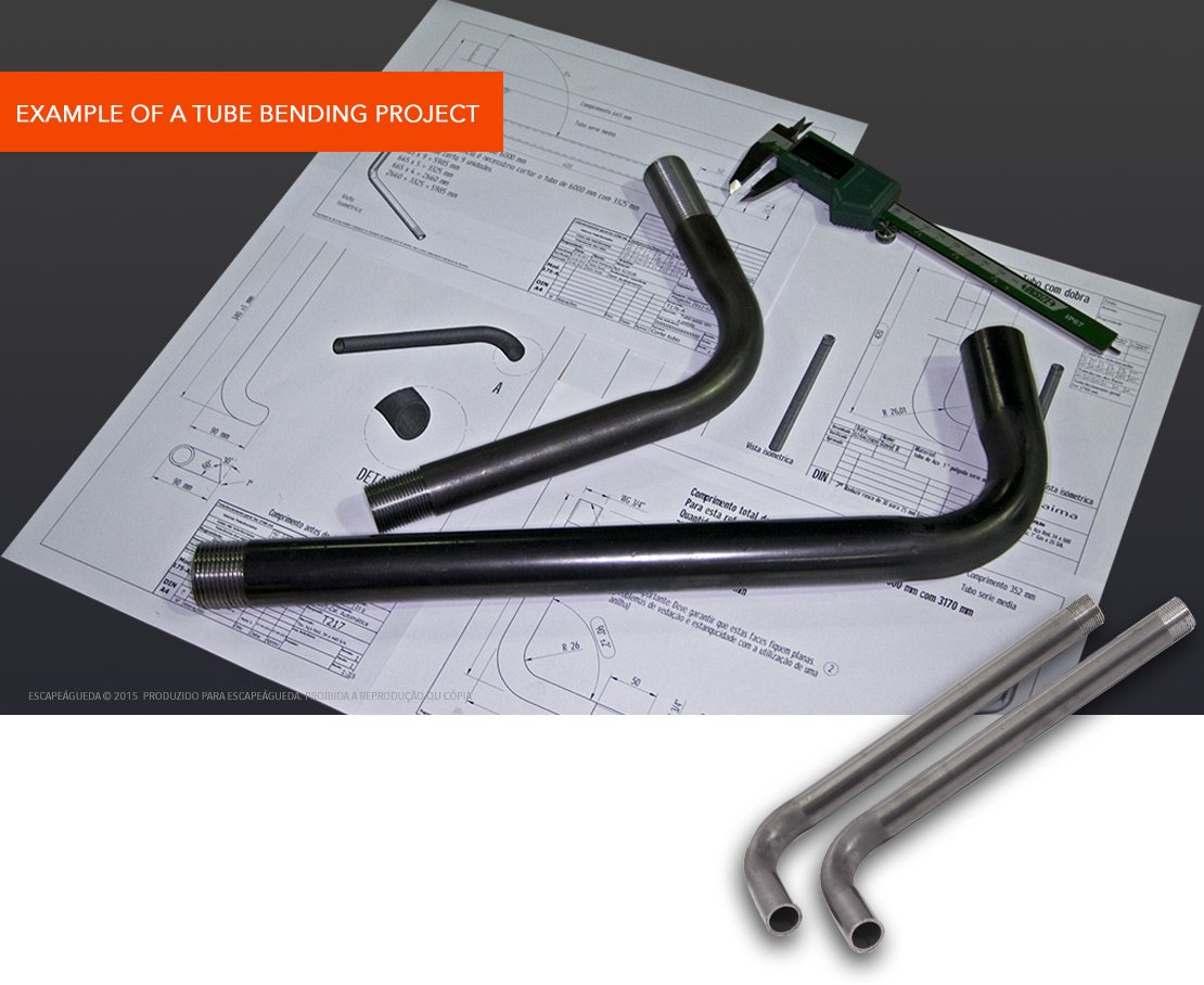 EXAMPLE OF A TUBE BENDING PROJECT